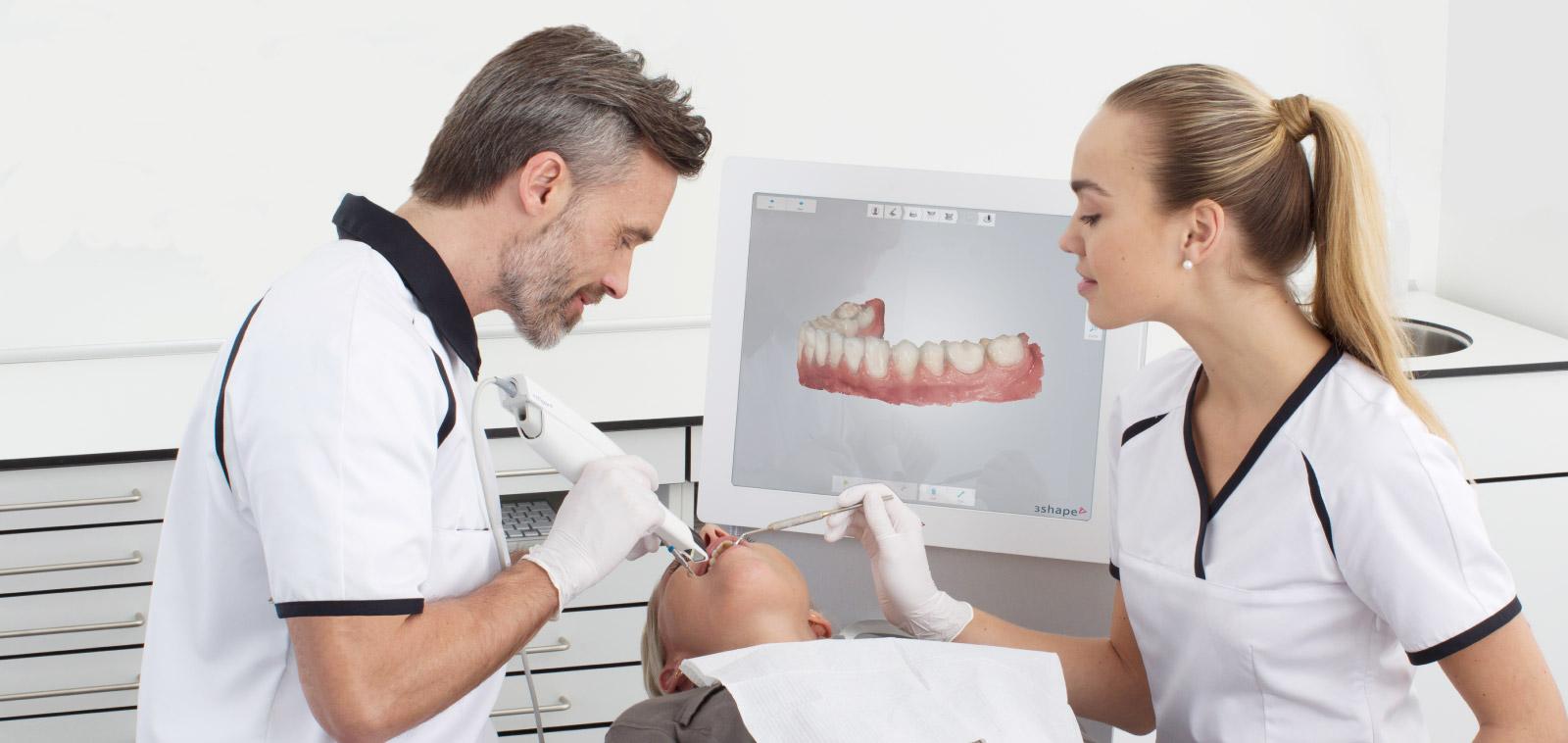 Digital Dental Impressions- 3Shape intra-oral surface